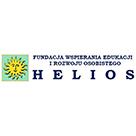 Logo Fundacja Wspierania Edukacji i Rozwoju Osobistego HELIOS